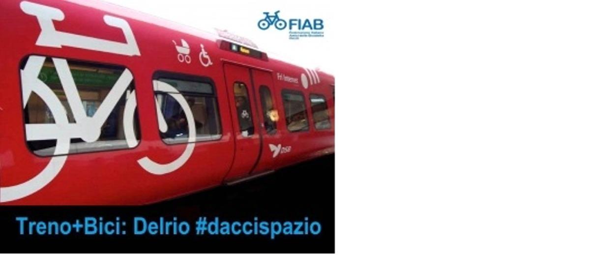 Treno+bici: Delrio #daccispazio