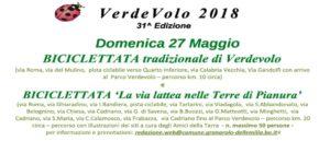 Biciclettata VerdeVolo 2018